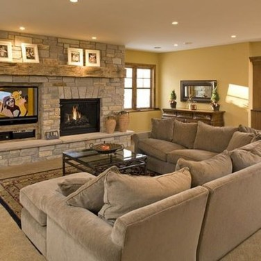 Impressive Living Room Ideas With Fireplace And Tv22
