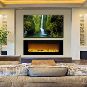Impressive Living Room Ideas With Fireplace And Tv24