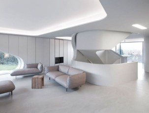 Modern And Futuristic Interior Designs To Inspire You24