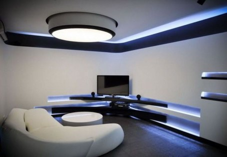Modern And Futuristic Interior Designs To Inspire You33