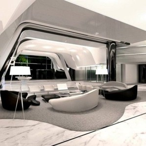 Modern And Futuristic Interior Designs To Inspire You35