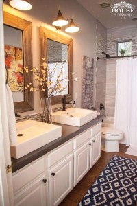 Modern Farmhouse Design For Bathroom Remodel Ideas30