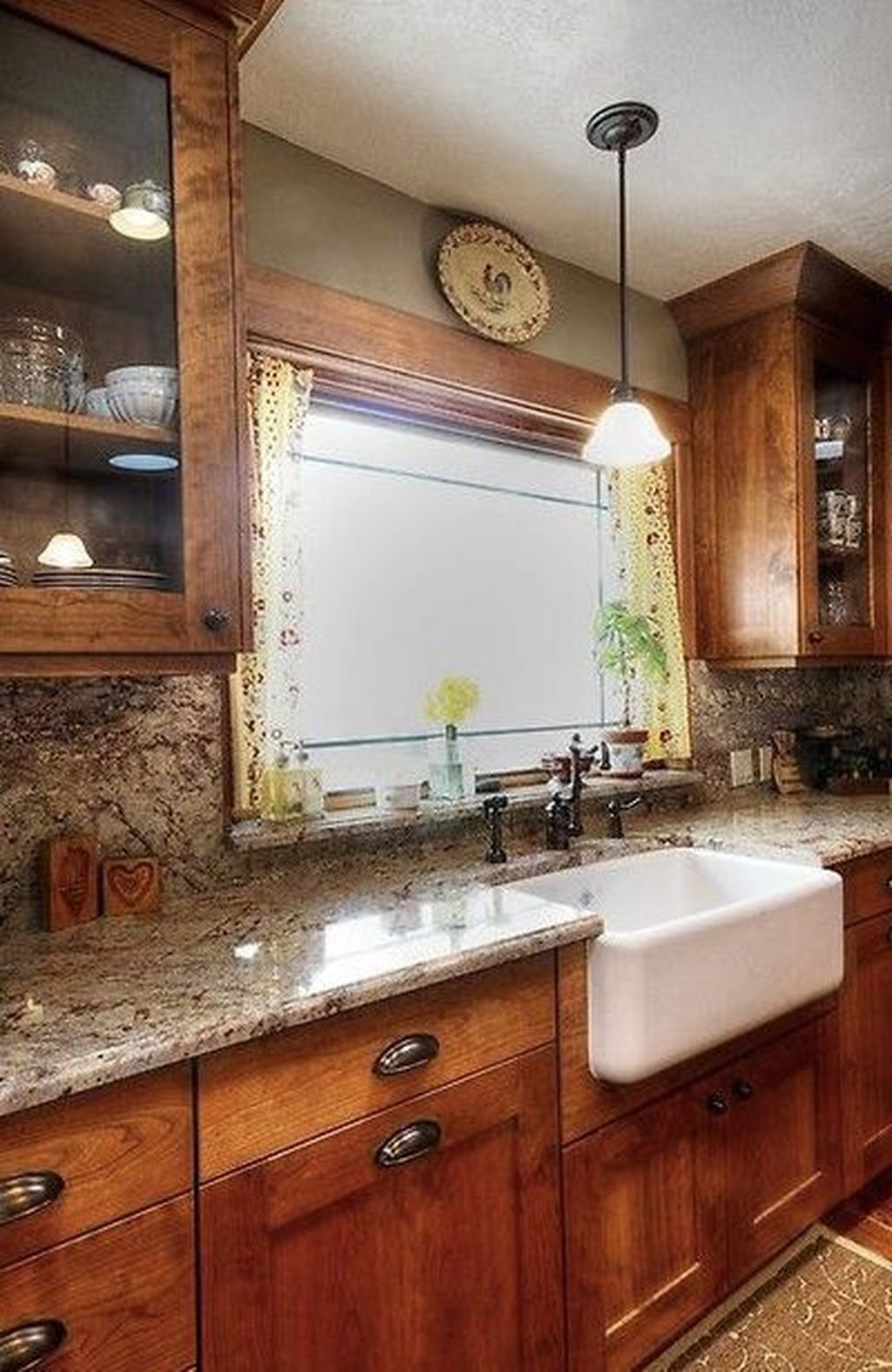 Modern Farmhouse Kitchen Cabinet Makeover Design Ideas20