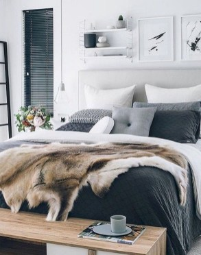 Awesome Modern Scandinavian Bedroom Design And Decor Ideas43
