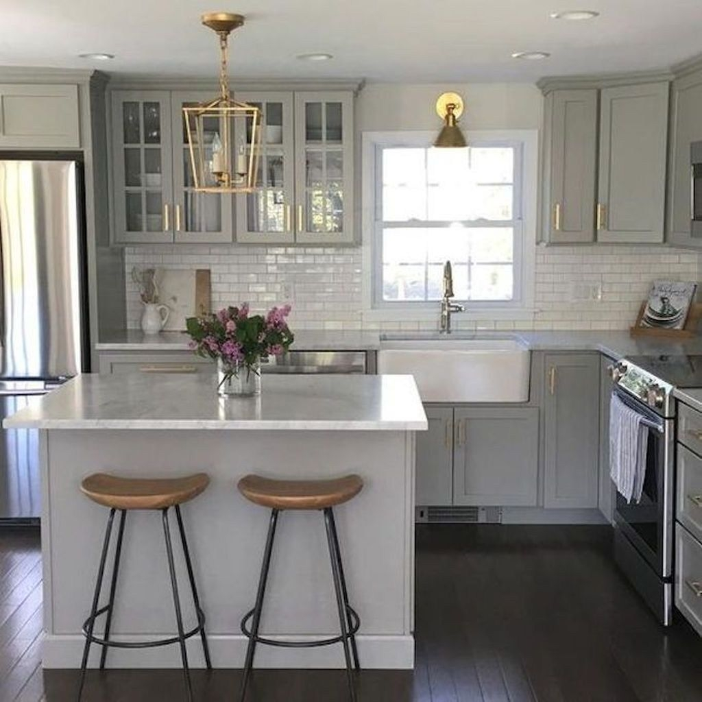 Awesome Small Kitchen Remodel Ideas17