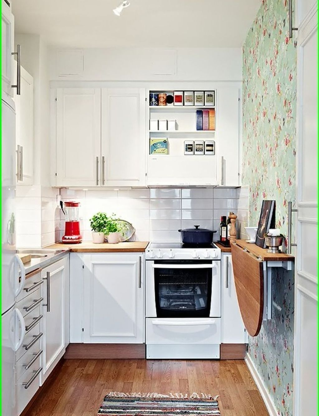 Cool Small Apartment Kitchen Ideas38