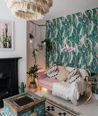 Modern Bohemian Style Home Decor Ideas24