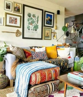 Modern Bohemian Style Home Decor Ideas41