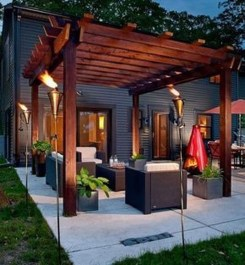 Modern Fresh Backyard Patio Ideas02