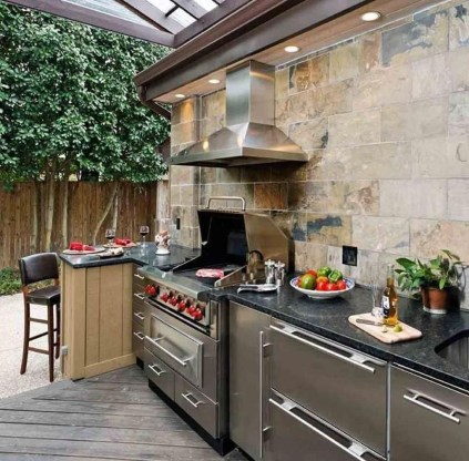 Popular Summer Kitchen Backsplash Ideas08