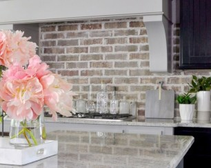Popular Summer Kitchen Backsplash Ideas19