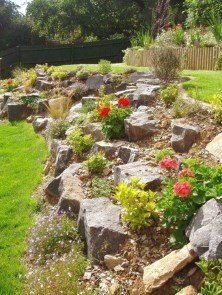 Affordable Rock Garden Landscaping Design Ideas32