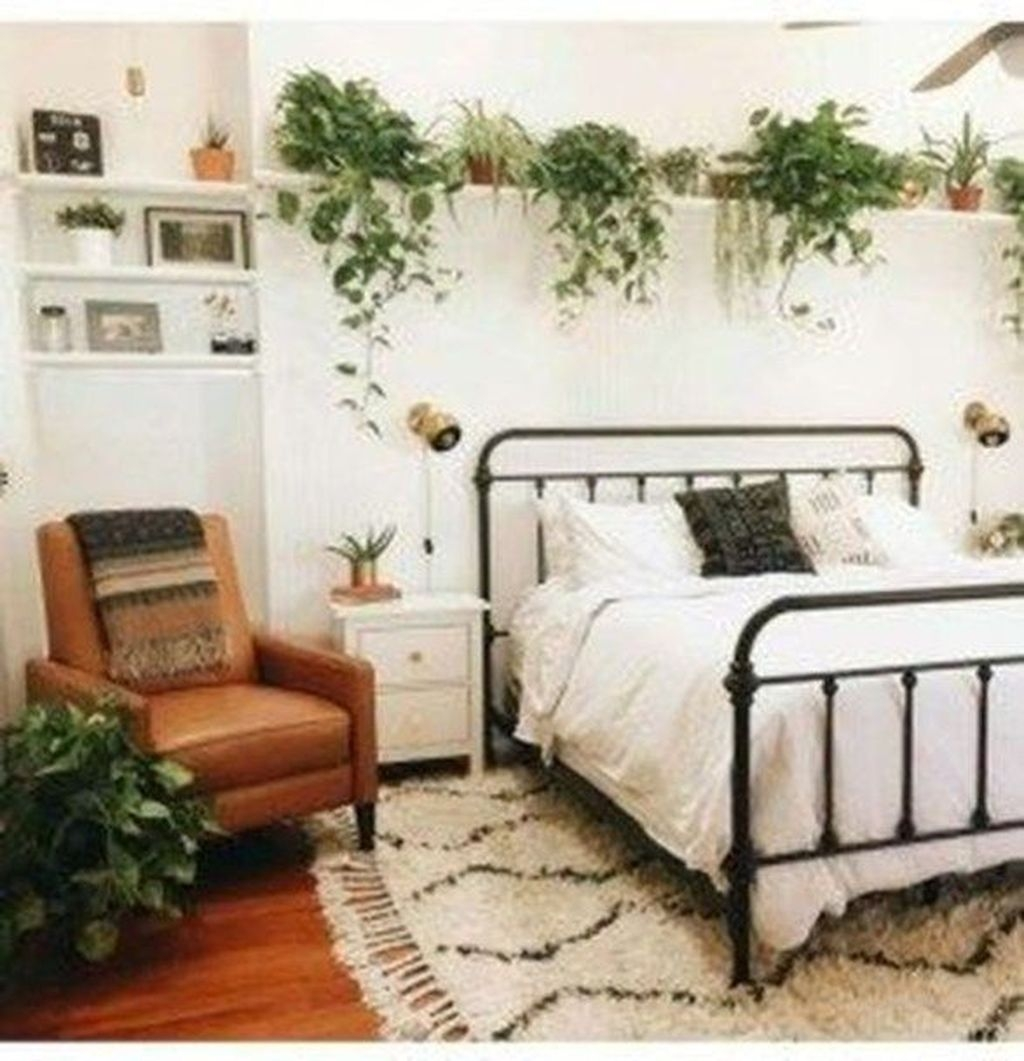 Amazing Farmhouse Style For Cozy Bedroom Decorating Ideas20