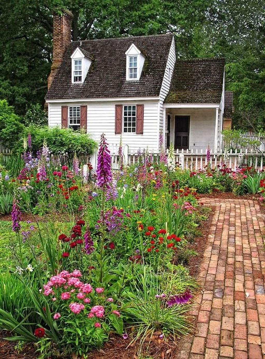 Awesome Cottage Garden Design Ideas For Your Dream House15