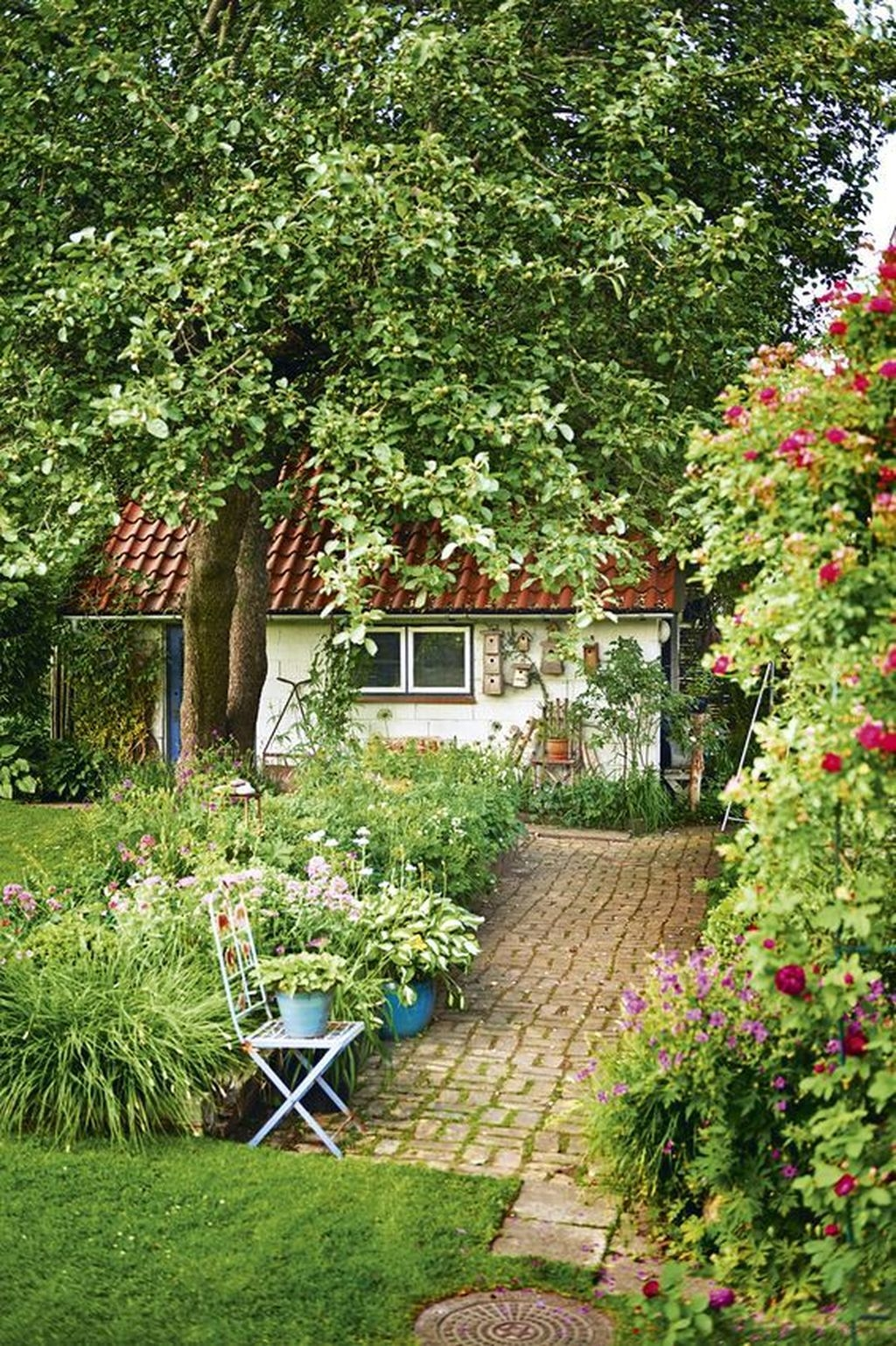 Awesome Cottage Garden Design Ideas For Your Dream House25