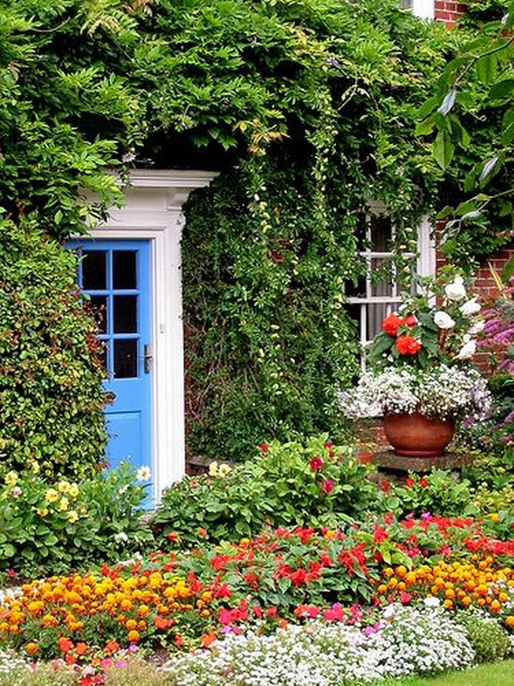 Awesome Cottage Garden Design Ideas For Your Dream House43