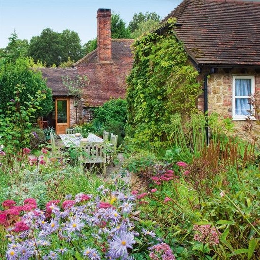 Awesome Cottage Garden Design Ideas For Your Dream House49
