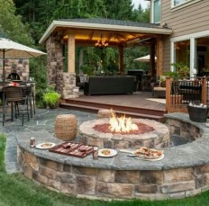 Fascinating Backyard Patio Design And Decor Ideas31