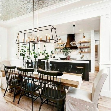 Perfect Farmhouse Dining Room Makeover Ideas11