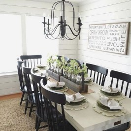 Perfect Farmhouse Dining Room Makeover Ideas13
