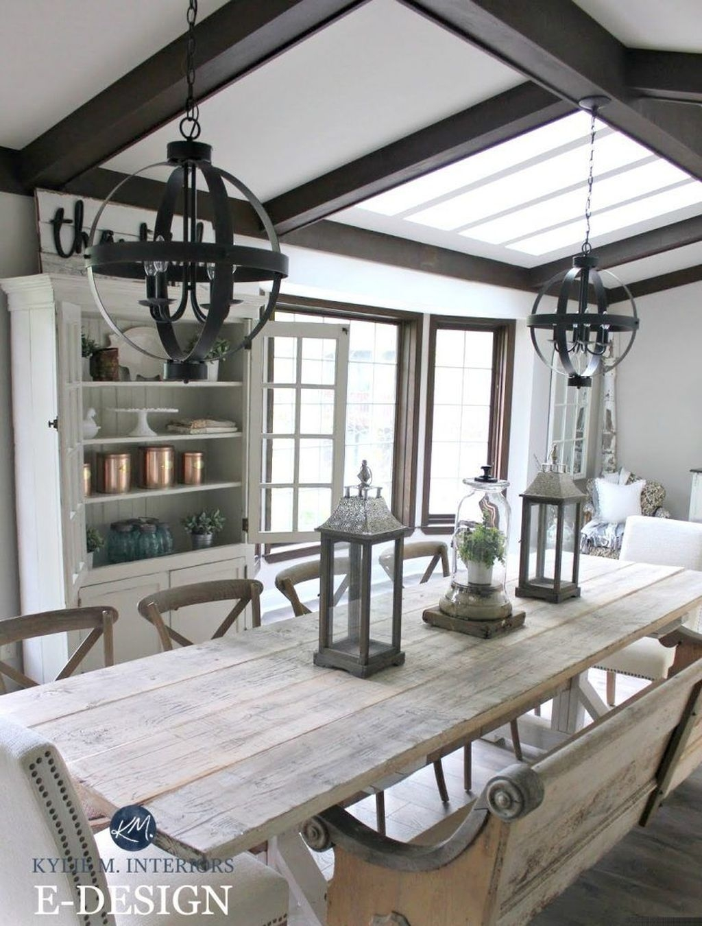 Perfect Farmhouse Dining Room Makeover Ideas27