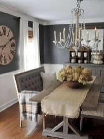 Perfect Farmhouse Dining Room Makeover Ideas36