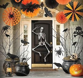 Stunning Diy Outdoor Halloween Decor And Design Ideas14