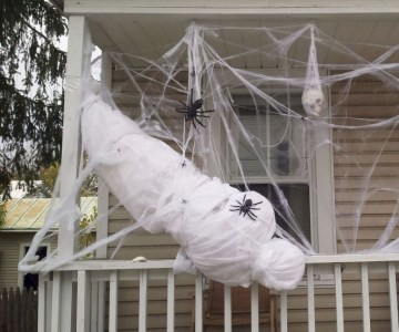 Stunning Diy Outdoor Halloween Decor And Design Ideas18
