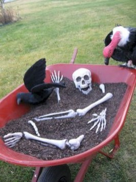 Stunning Diy Outdoor Halloween Decor And Design Ideas28