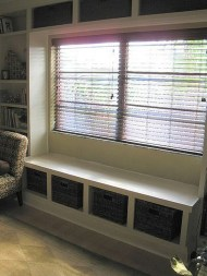 Stunning Window Seat Ideas With Padded Seat And Storage Below02