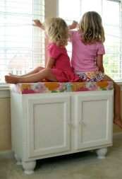Stunning Window Seat Ideas With Padded Seat And Storage Below04