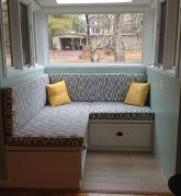 Stunning Window Seat Ideas With Padded Seat And Storage Below11