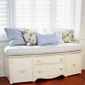Stunning Window Seat Ideas With Padded Seat And Storage Below28
