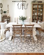 Affordable Farmhouse Dining Room Design Ideas29