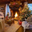 Awesome Vintage Christmas Living Room Decoration Ideas35