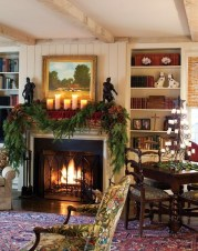 Awesome Vintage Christmas Living Room Decoration Ideas36