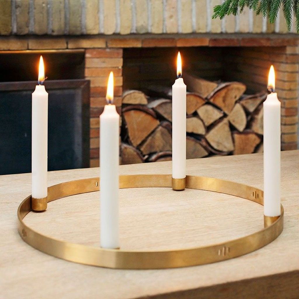 Beautiful Christmas Candle Holders Design Ideas04