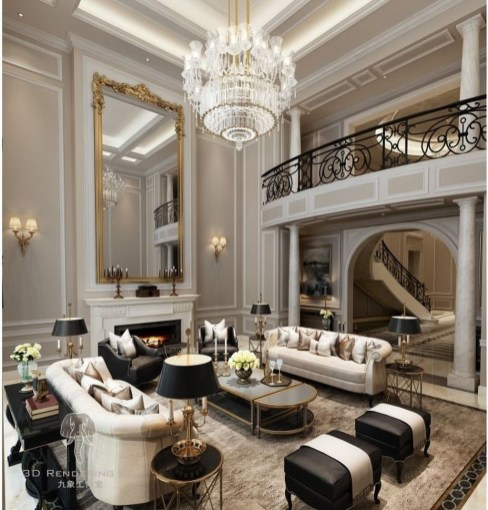 Beautiful Living Room Design Ideas For Luxurious Home41