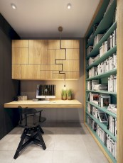 Comfy Home Office Design Ideas For Small Apartment09
