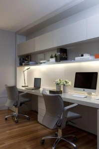 Comfy Home Office Design Ideas For Small Apartment17
