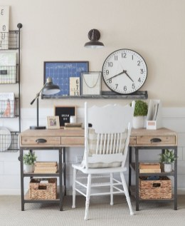 Comfy Home Office Design Ideas For Small Apartment25