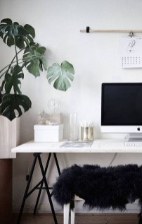 Comfy Home Office Design Ideas For Small Apartment28