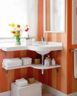 Easy Ideas For Functional Decoration Of Small Bathroom07