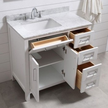 Easy Ideas For Functional Decoration Of Small Bathroom15