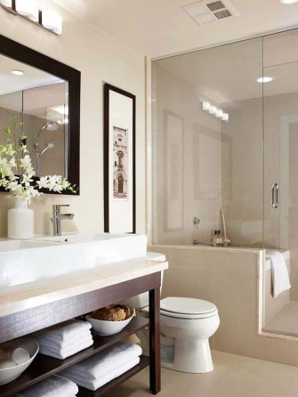 Easy Ideas For Functional Decoration Of Small Bathroom25