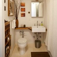 Easy Ideas For Functional Decoration Of Small Bathroom33