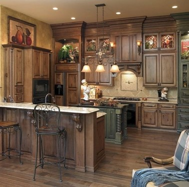 Flawless French Country Style Kitchen Decor Ideas03