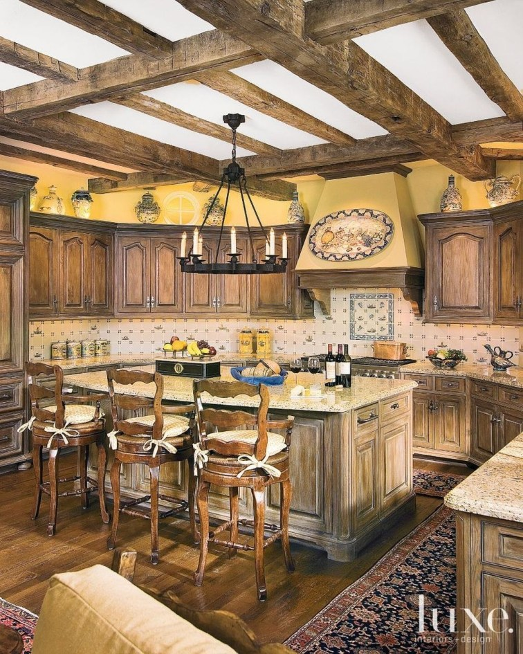 Flawless French Country Style Kitchen Decor Ideas18