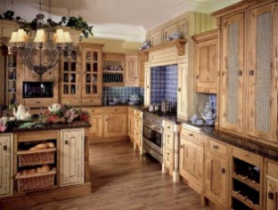 Flawless French Country Style Kitchen Decor Ideas28