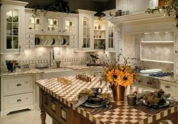 Flawless French Country Style Kitchen Decor Ideas35